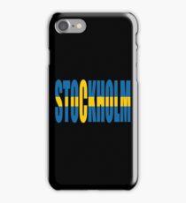 Stockholm. iPhone Case/Skin