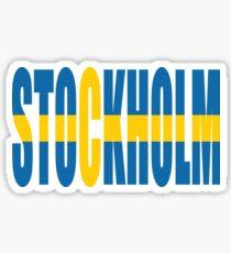 Stockholm. Sticker