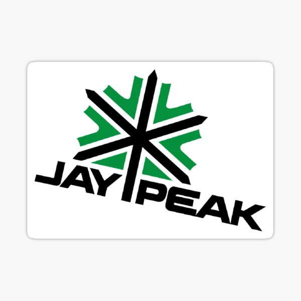 Jay Peak Retro Logo Sticker