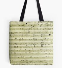Dies Irae Mozart Tote Bag