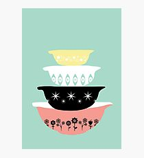 Pyrex Pretties Photographic Print