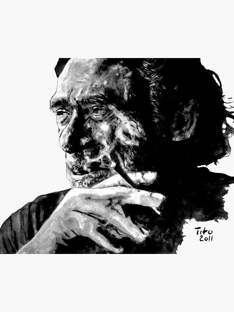 Charles Bukowski by ARTito