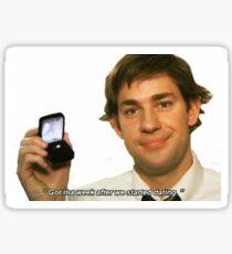 The Office- Jim Halpert Sticker
