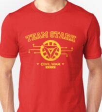 Civil War: Team Stark T-Shirt