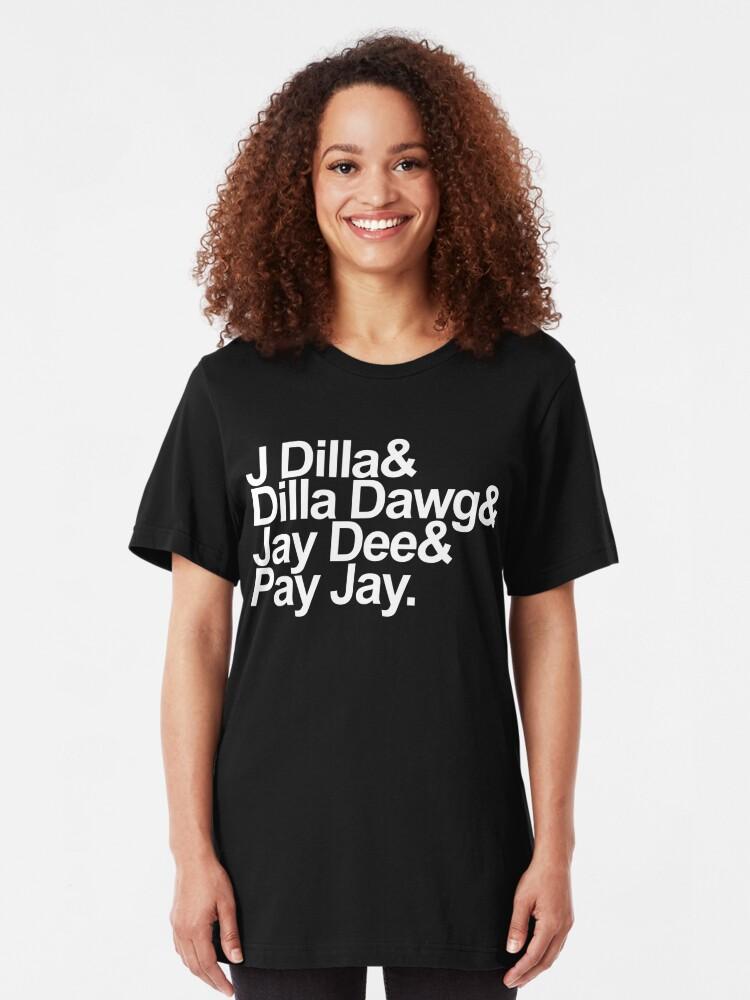 J Dilla - Won't Do Print | Slim Fit T-Shirt