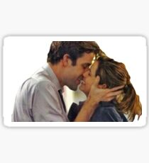 The Office- Jim and Pam engagement  Sticker