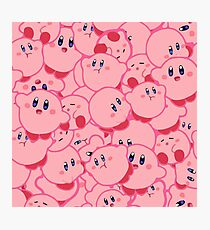 Kirby Pattern Vectored Photographic Print