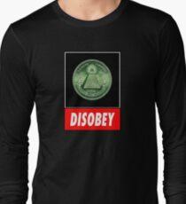 Disobey Illuminati/ Killuminati Long Sleeve T-Shirt