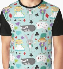 Alice and Friends - Pattern Graphic T-Shirt