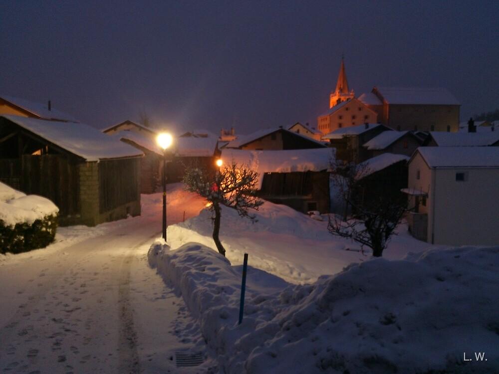 Night Walk by L.W. Turek