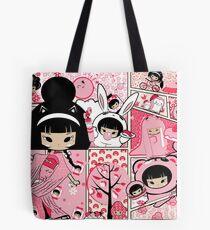 Sakura Print Tote Bag