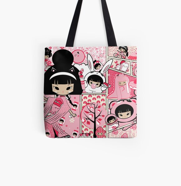 Sakura Print All Over Print Tote Bag