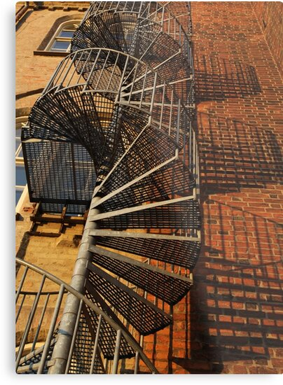 Winding Stairs by Madeleine Forsberg