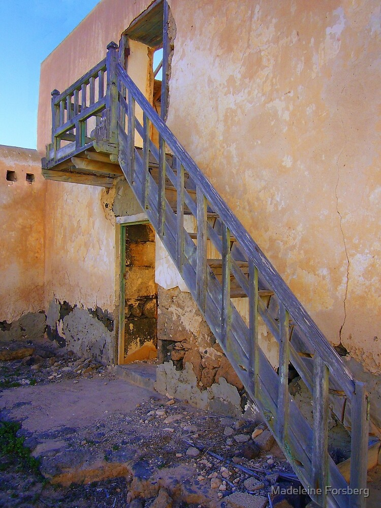 Weathered Stairway by Madeleine Forsberg