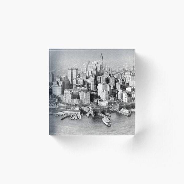 New York Acrylic Block