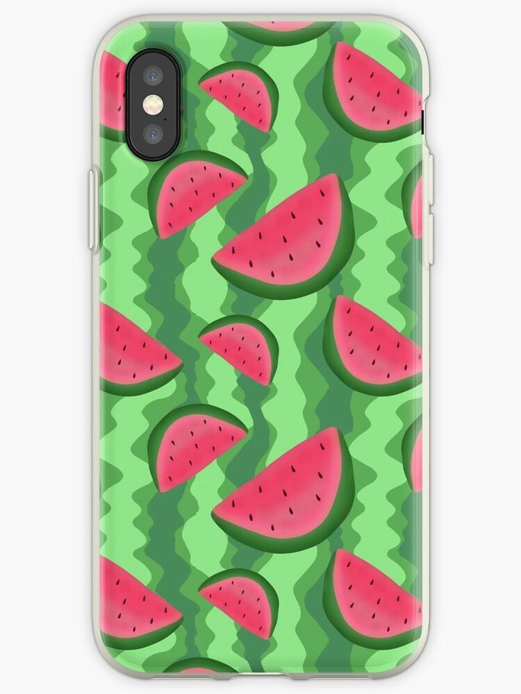 Watermelon Slice Pattern by SaradaBoru