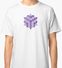 64 Tetrahedron Grid Classic T-Shirt