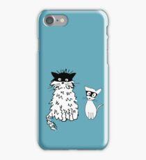 Cat superheroes iPhone Case/Skin