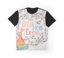 Read More Books - Fox Graphic T-Shirt