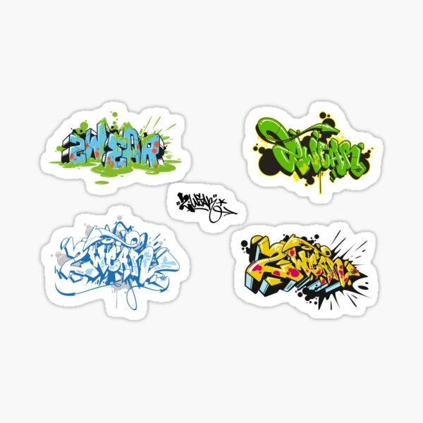 2wear Toys Graffiti Style Stickers  Sticker