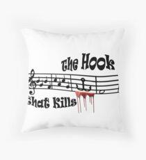The Hook Throw Pillow
