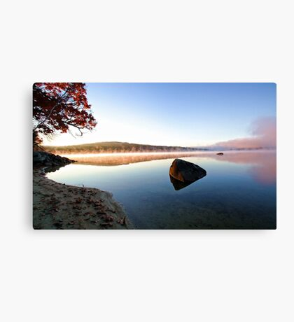 Autumn Sunrise - Crystal Lake Canvas Print