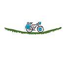 Bike on a vine by Remoraa