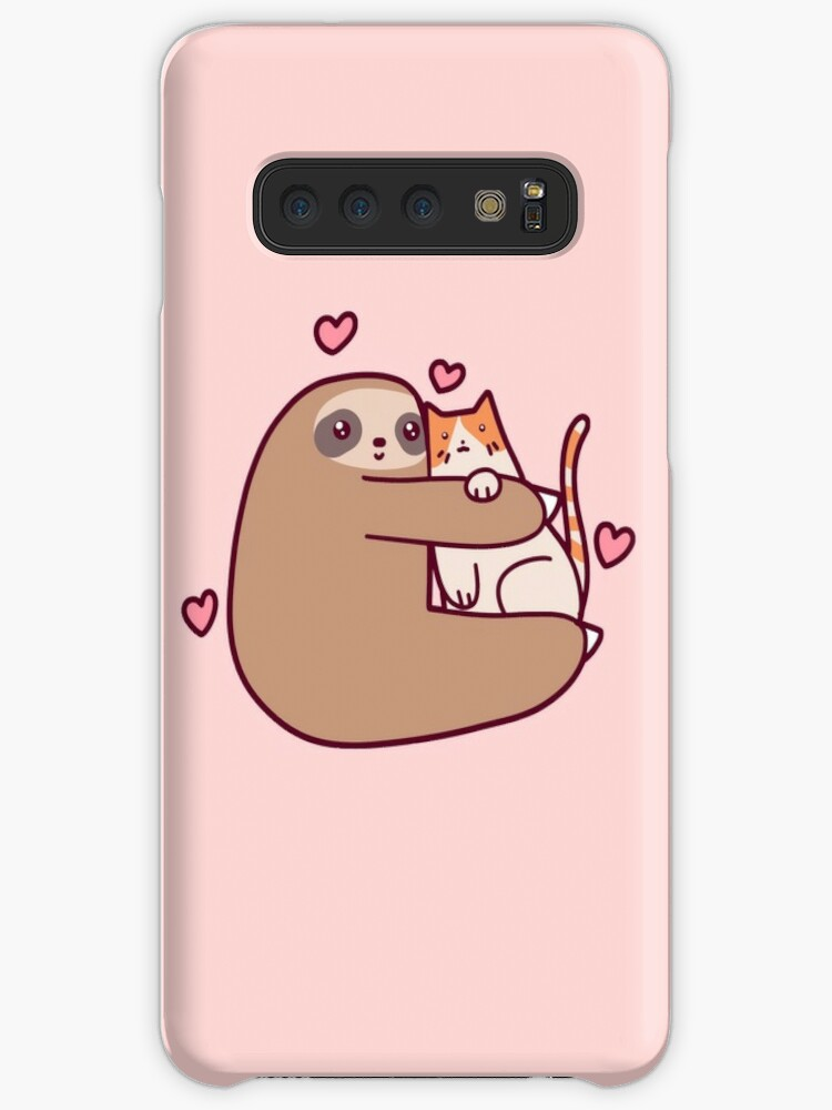 Faultier liebt Katze von SaradaBoru