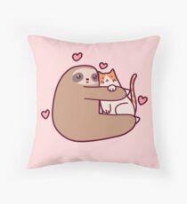 Cojín Sloth Loves Cat