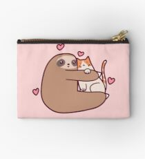 Sloth Loves Cat Studio Pouch