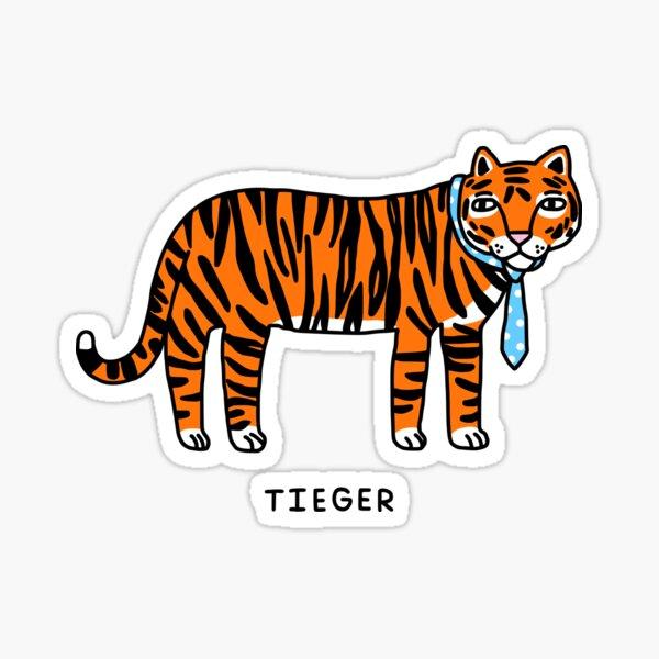 Tieger Sticker