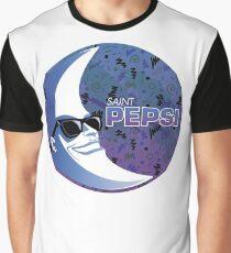 SAINT PEPSI Graphic T-Shirt