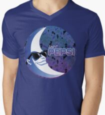 SAINT PEPSI Men's V-Neck T-Shirt