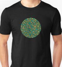 Colour Blind Test no.2 Unisex T-Shirt