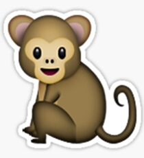 Emoji Monkey Sticker