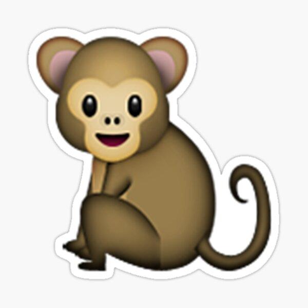 Emoji Monkey Sticker