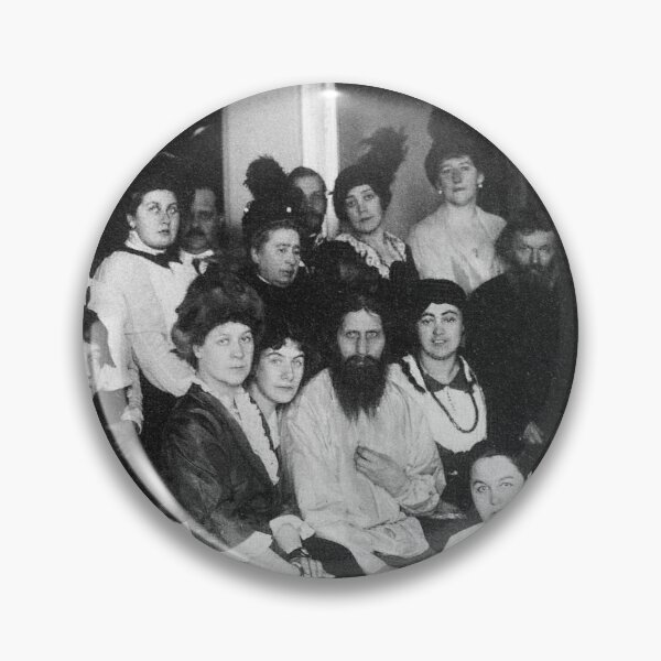 Grigori Yefimovich Rasputin was a Russian mystic and self-proclaimed holy man Pin