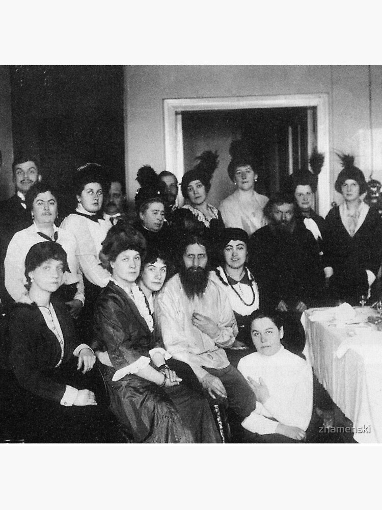 Grigori Yefimovich Rasputin was a Russian mystic and self-proclaimed holy man by znamenski