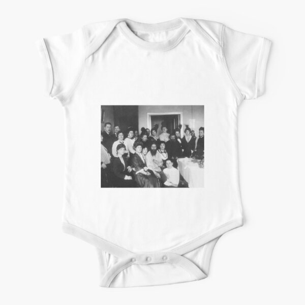 Grigori Yefimovich Rasputin was a Russian mystic and self-proclaimed holy man Short Sleeve Baby One-Piece