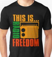 This is Radio Freedom-2 Unisex T-Shirt