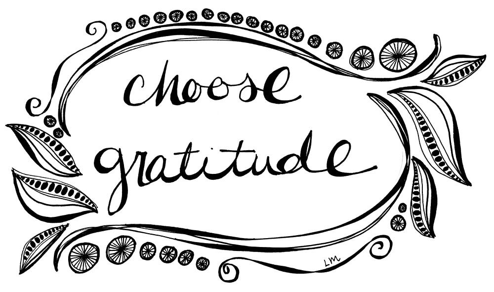 Choose Gratitude by Laura Maxwell