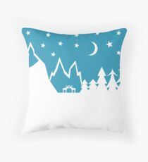 Mr Alpine  Throw Pillow