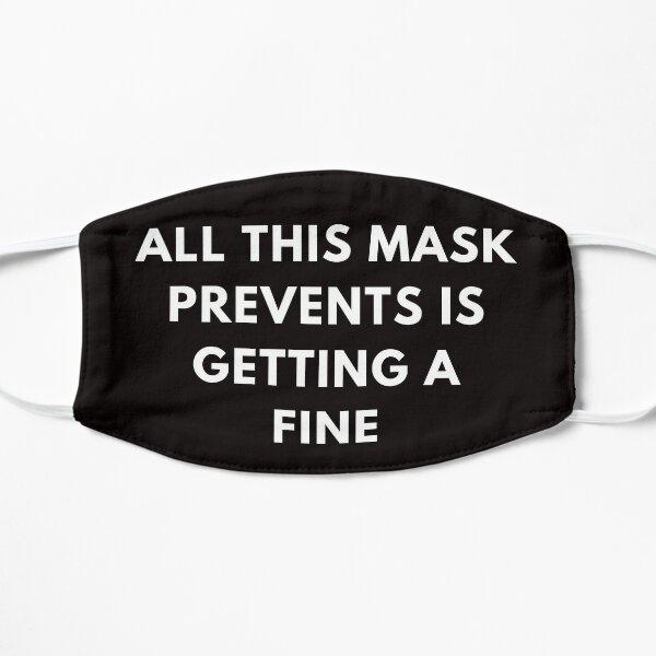 Tout ce masque empêche d'obtenir un masque fin et drôle, un masque réutilisable, un masque de puissance, un masque de protestation silencieux FACEMask Masque sans plis
