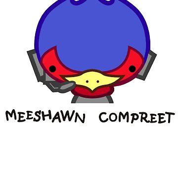 Meeshawn Compreet Falco by metroboomin