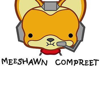 Meeshawn Compreet Fox by metroboomin