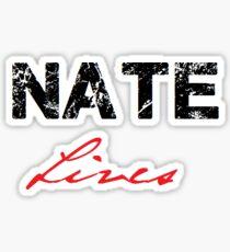 Nate Lives Sticker