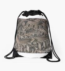 The Walled City Drawstring Bag