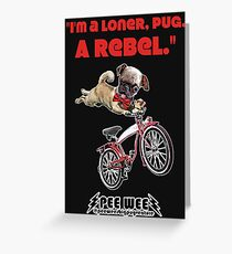 Rebel Pee Wee Greeting Card