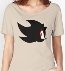 Shadow the hedgehog silhouette  Women's Relaxed Fit T-Shirt
