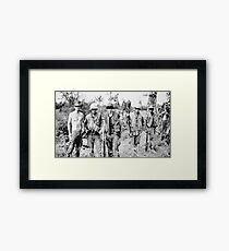 Classified Vietnam photo Framed Print